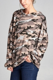 Nu Label Urban Camo Hoodie - Front cropped