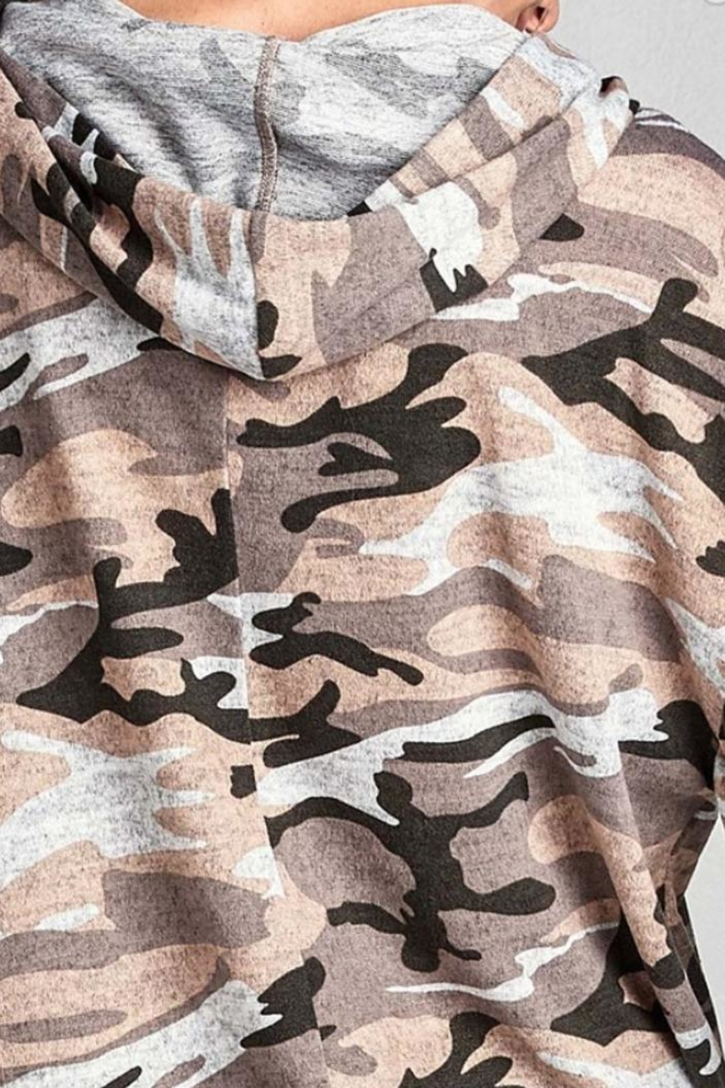 Nu Label Urban Camo Hoodie - Side Cropped Image