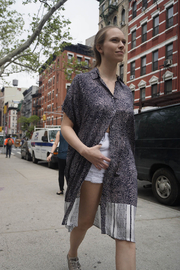 NU New York BELAIR BUTTON DOWN – INCA - Front cropped