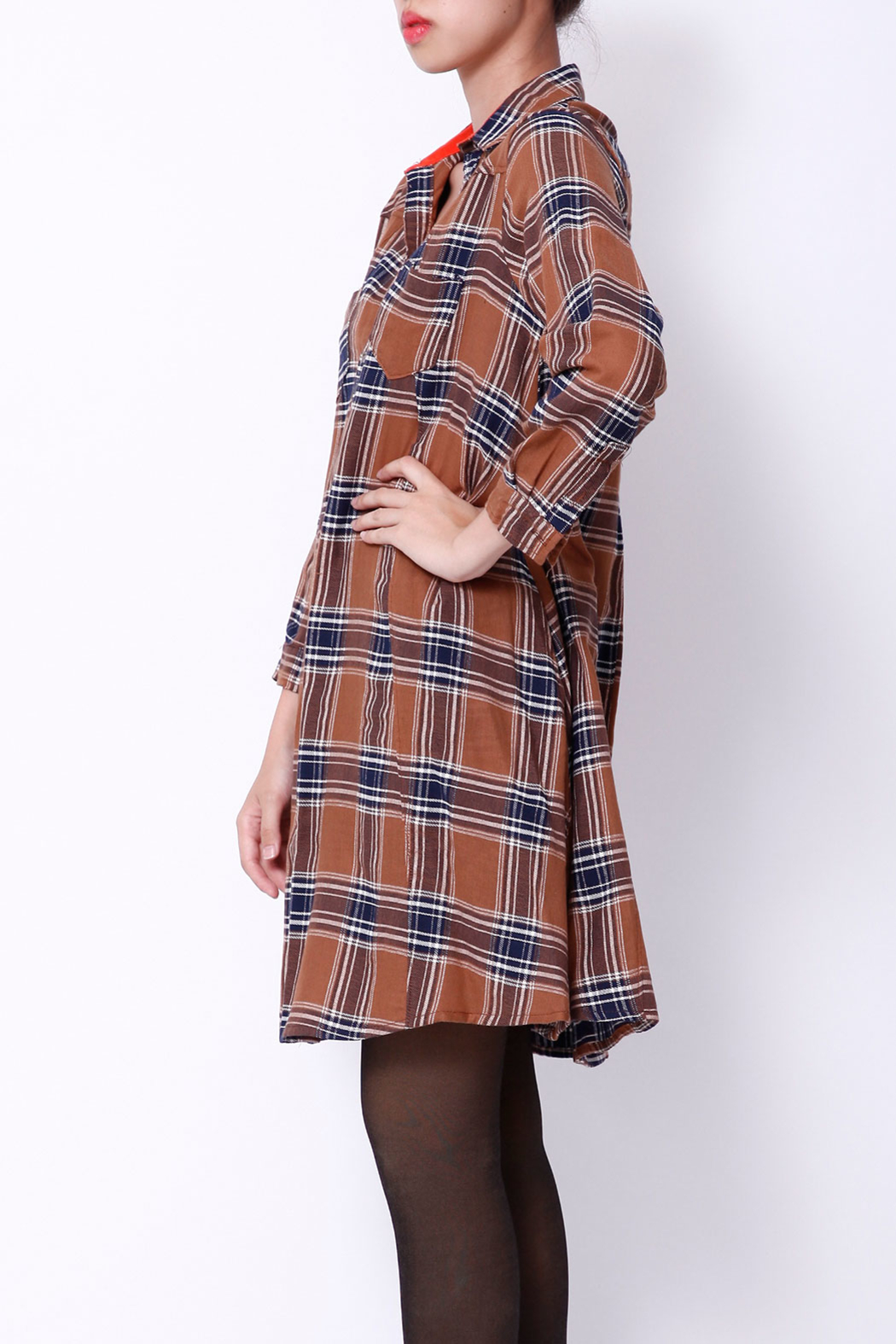 NU New York FALL SHIRTDRESS - Side Cropped Image