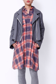 NU New York FALL SHIRTDRESS - Front full body