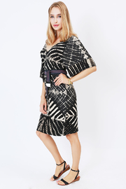 NU New York Ink & Paper Kimono Dress - Side cropped