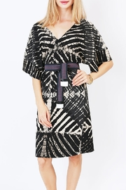 NU New York Ink & Paper Kimono Dress - Front full body