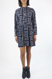 NU New York PAISLEY PLEATED DRESS - Product Mini Image