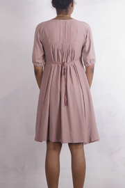 NU New York PINK BLUSH FIT AND FLAIR - Front full body