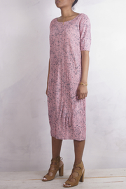 NU New York PINK POLKA PLEATS - Side cropped