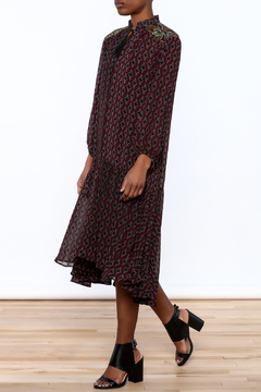 Shoptiques Product: Printed Flowy Chiffon Dress