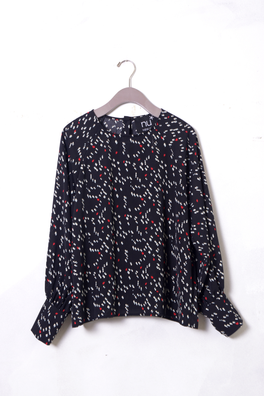 NU New York Sausalito Printed Blouse - Front Full Image