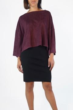 Shoptiques Product: Taffy Suedette Top