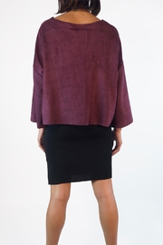 NU New York Taffy Suedette Top - Side cropped