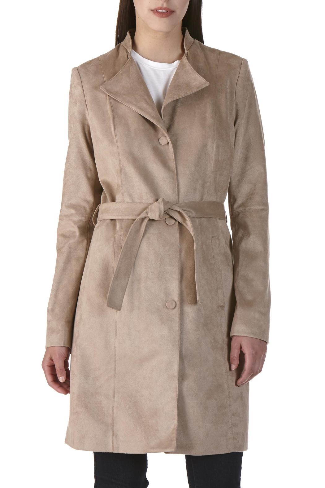 Nuage Suede Trench Coat - Main Image