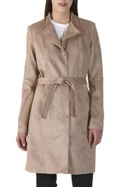 Nuage Suede Trench Coat - Product Mini Image