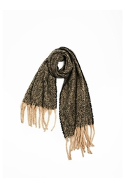 Look by M Nubby Fringe Scarf - Front cropped