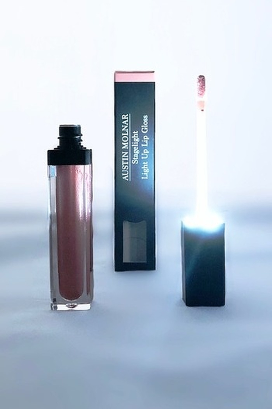 Austin Molnar Nude Beach Light Up Lip Gloss - Side Cropped Image