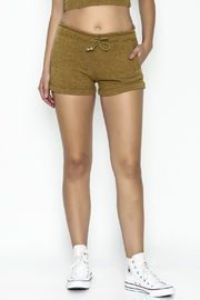 NUDE Bohemian Jogger Shorts - Front cropped