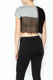 NUDE Chain Top - Back cropped