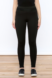 NUDE Casual Black Leggings - Side cropped