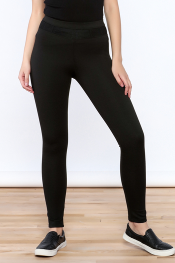 NUDE Casual Black Leggings - Main Image