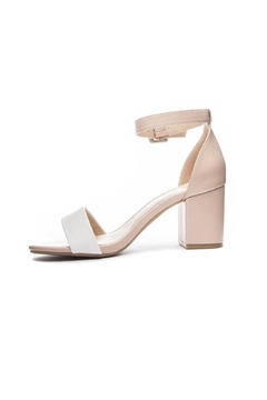 Shoptiques Product: Nude Heeled Sandal