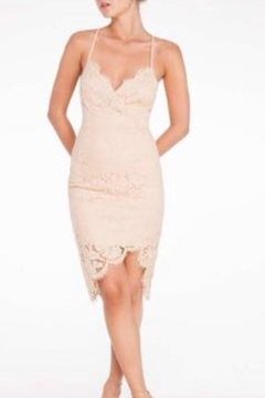 Shoptiques Product: Nude Lace Dress