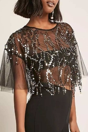 NUDE Mesh Sequin Top - Product Mini Image