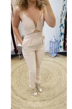 L'atiste Nude Pantsuit - Alternate List Image