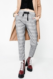 NUDE Plaid Track Pants - Product Mini Image