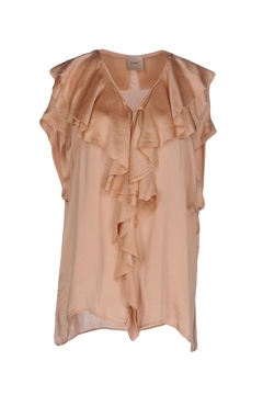 NUDE Ruffel Neck Top - Product List Image