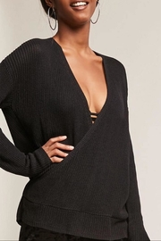 NUDE Surplice Sweater - Front cropped