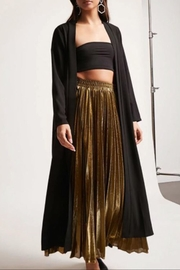 NUDE Tie Front Kimono - Front cropped