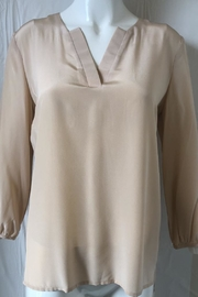 Amanda Uprichard Nude V-Neck Tunic - Product Mini Image