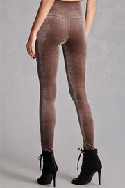 NUDE Velvet Legging - Front full body