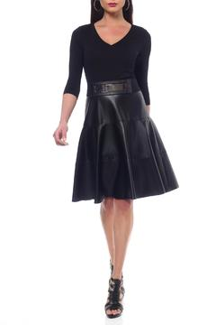 Nue by Shani Vegan Leather Dress - Product List Image