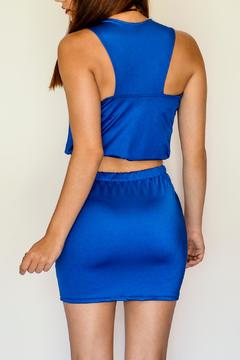 NUINABELOVE Royal Blue Crop Top - Alternate List Image