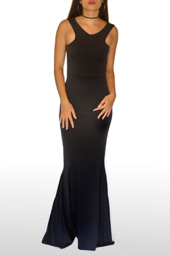 Shoptiques Product: Black Mermaid Dress