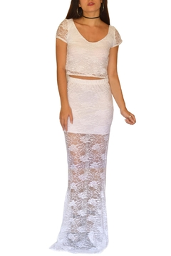 Shoptiques Product: Mermaid Lace Skirt