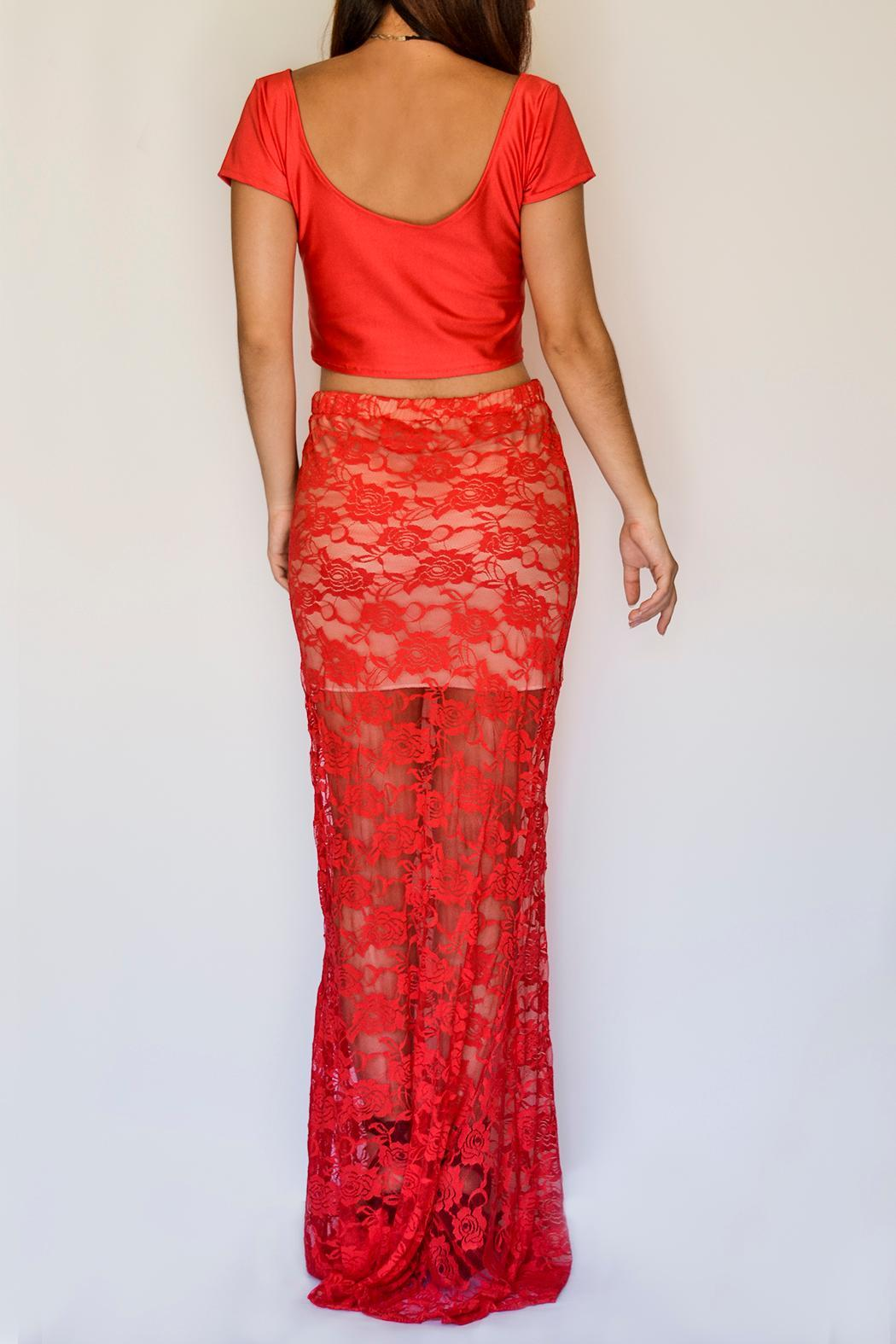 NUINABELOVE Mermaid Lace Skirt - Front Full Image