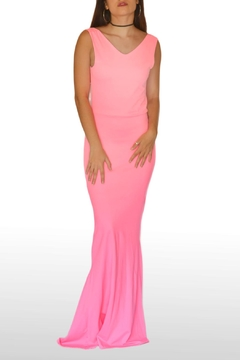 Shoptiques Product: Pink Mermaid Dress