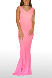 NUINABELOVE Pink Mermaid Dress - Front cropped