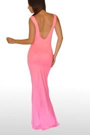 NUINABELOVE Pink Mermaid Dress - Front full body