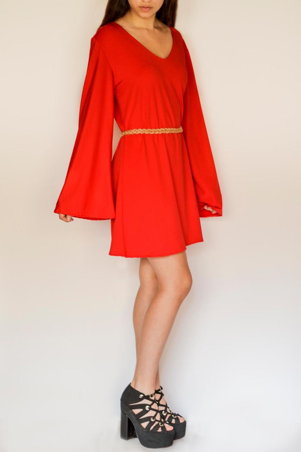 NUINABELOVE Wide Sleeve Dress - Front Full Image