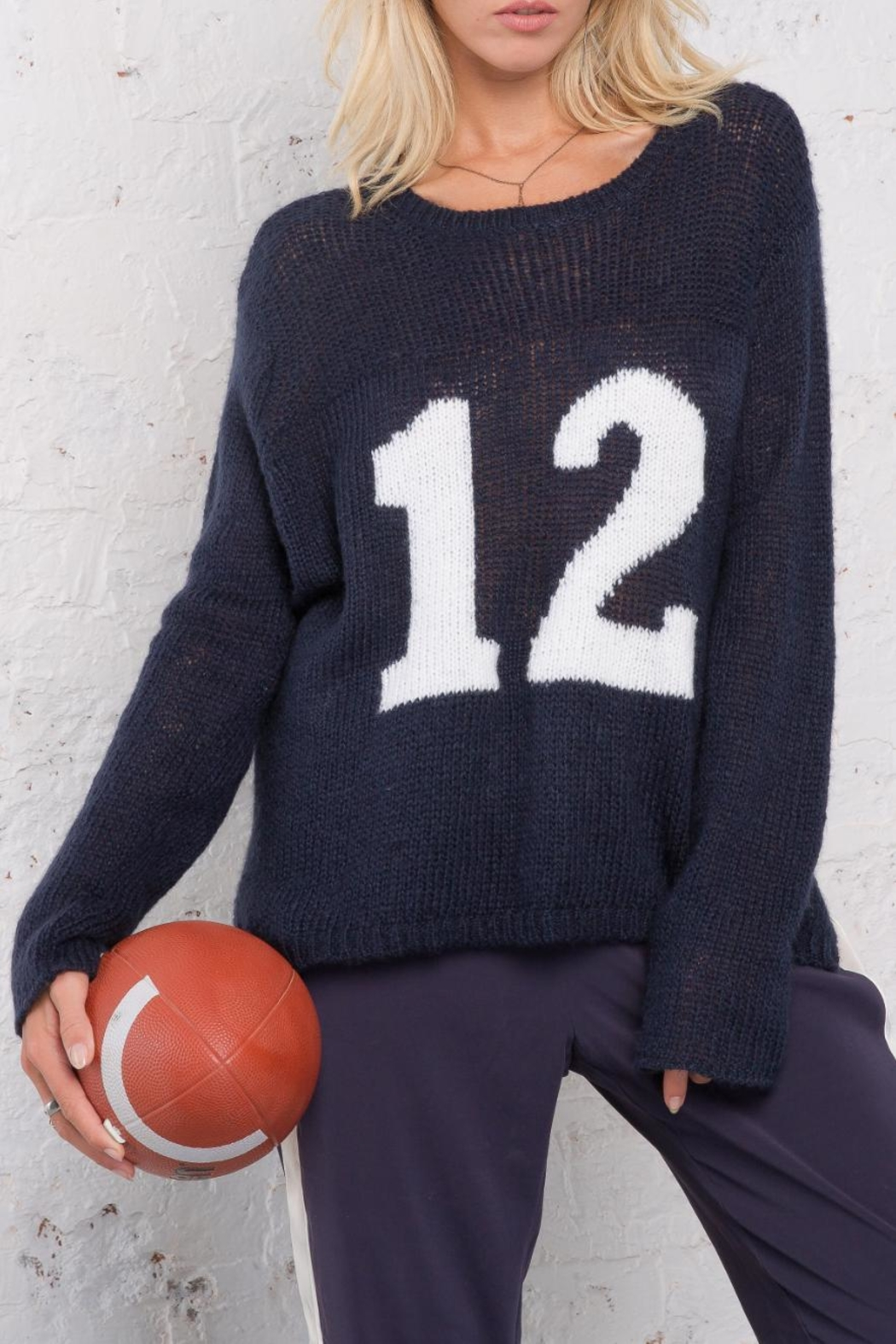 Wooden Ships Number 12 Sweater - Main Image