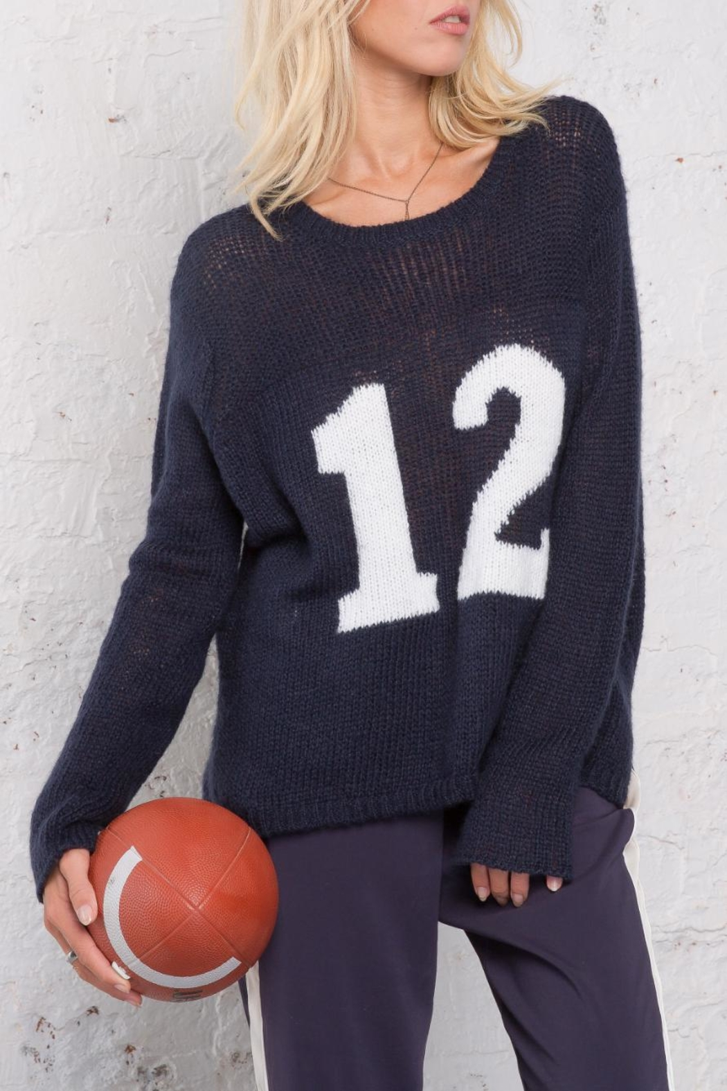 Wooden Ships Number 12 Sweater - Front Full Image
