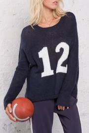 Wooden Ships Number 12 Sweater - Front full body