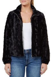 Numero Denim Faux Fur Jacket - Product Mini Image
