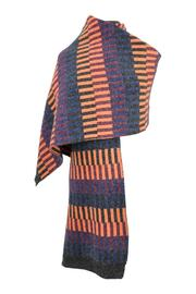 Numph Lines Winter Wrap - Front full body