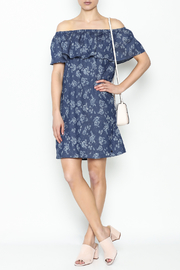 Numph Off Shoulder Shift Dress - Product Mini Image