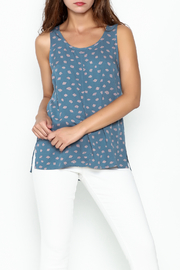 Numph Printed Shell Tank - Front cropped