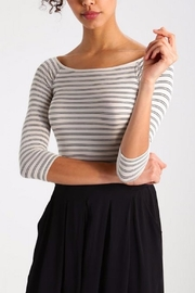 Numph Scoop Neck Top - Product Mini Image