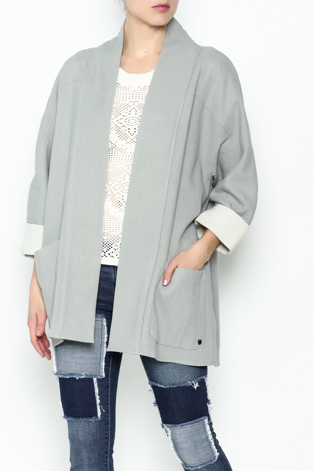 Numph Slouchy Pocket Blazer - Main Image